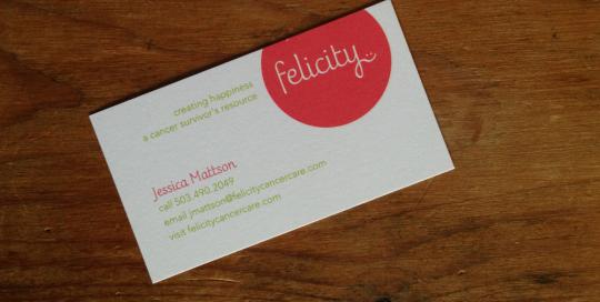 Felicity brand identity